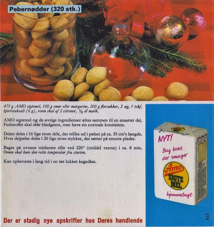 Pebernødder ( 320 stk. )...