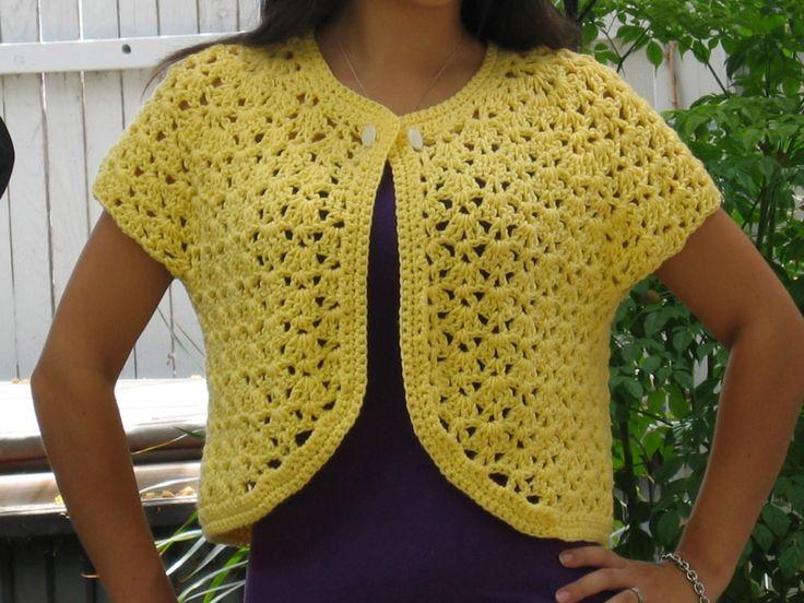 crochet free sweater patterns for beginners | Free Sweater Patterns ╭⊰✿Teresa…