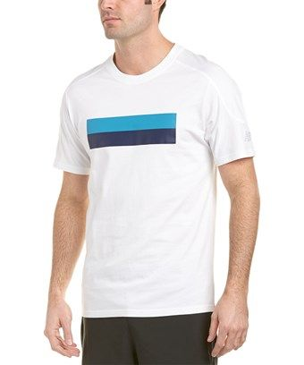 fe0185a7 NEW BALANCE NEW BALANCE ATHLETIC STRIPE T-SHIRT. #newbalance #cloth ...
