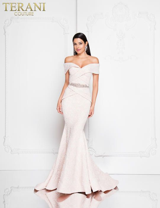 66e37333fab02 Terani Mother of the Bride 1812M6657 Terani Couture Mother of the Bride Chic  Boutique: Largest Selection of Prom, Evening, Homecoming, Quinceanera, ...