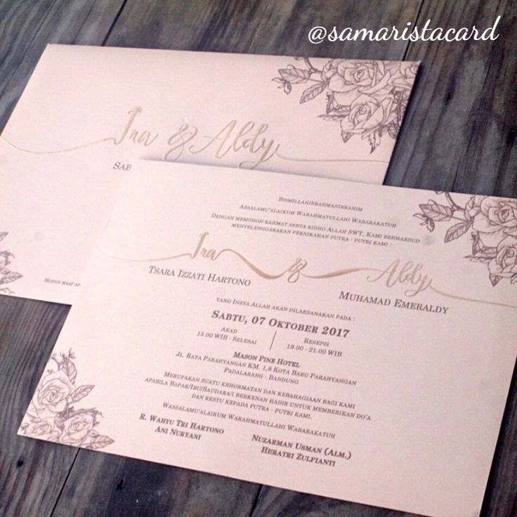 19 best out of ordinary wedding invitation images on pinterest is equipped with a present and beautiful flowers add to the impression of elegance and luxury wedding invitation card custom peach silver stopboris Gallery