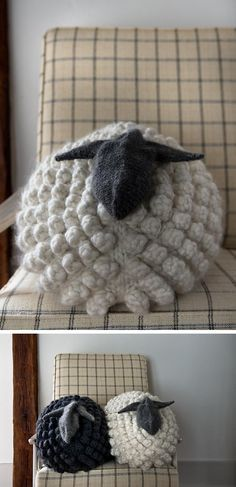 You guys, I find myself daydreaming about a stuffed animal, and it's all Purl Soho's fault. I thought the Bobble Sheep Pillow was super cute and well done when they first publishedthe …