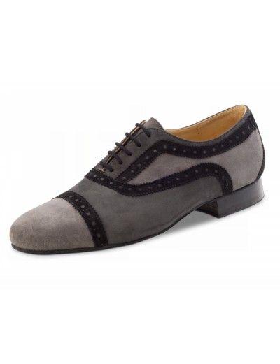 Chaussures de danse de salsa, Zarat Nueva Epoca en nubuck gris