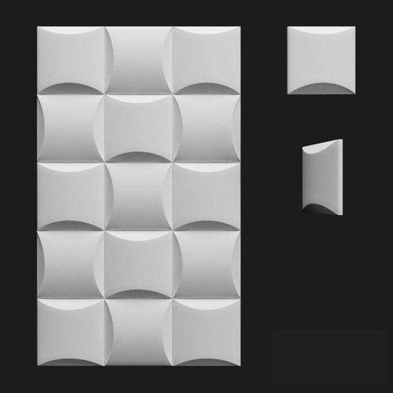 Parameter Mold Eu Us Tiles In Mold 4 Tile Length 20 Cm 7 87 In Tile Width 20 Cm 7 87 In 1 Mold We Decorative Wall Panels Panel Moulding Wall Panel Molding