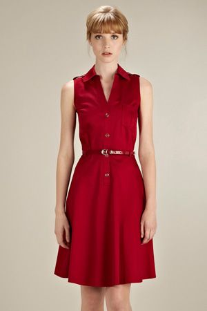 Sweet dress from Oasis. This would be lovely with my NY red wool/rayon fabric! £60