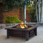 Real Flame® - Table -braséro Morrison au bois