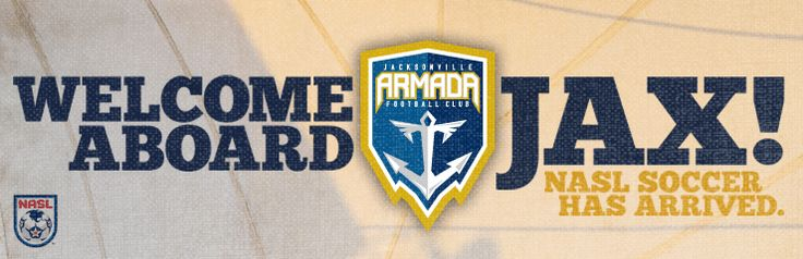 The Jacksonville Armada FC has arrived! First Coast sports fans got a new professional soccer team back today with the announcement that the city's North American Soccer League expansion team will be named Jacksonville Armada FC, in a nod to the region's rich Spanish heritage and strong military connection.