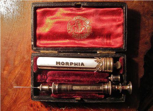 Victorian Morphine Set
