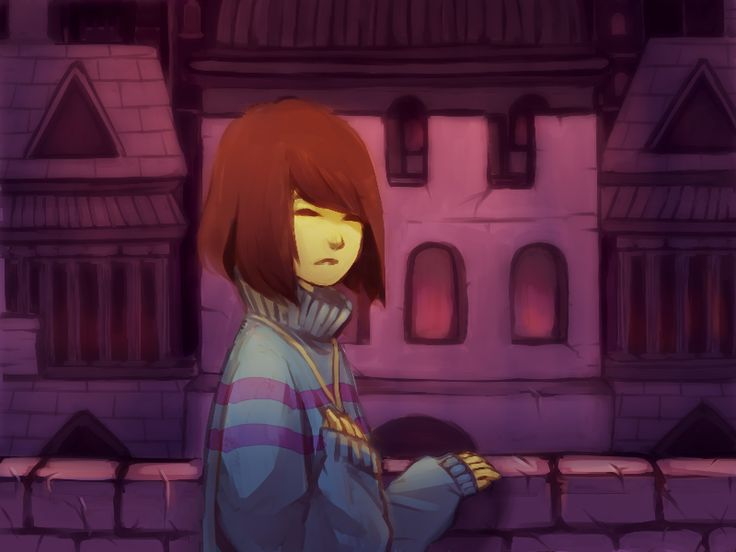 UT fan art - Underground city in ruins