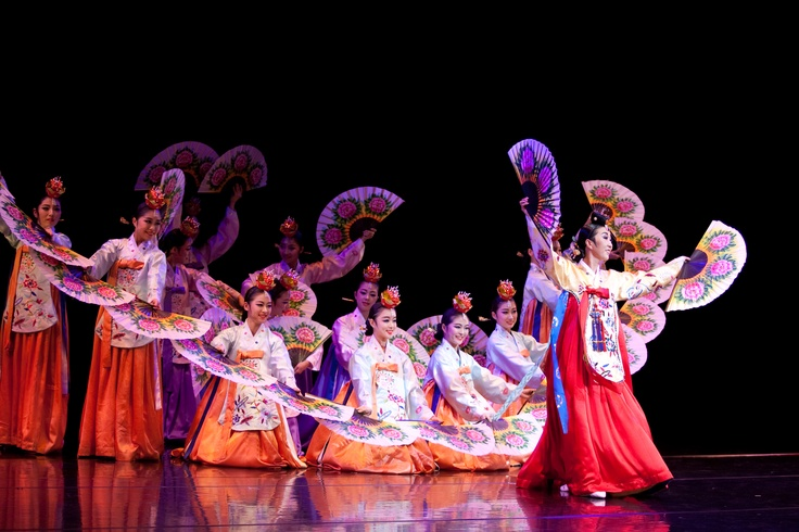Many Koreans use this dance during many celebrations.