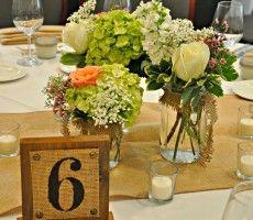 Mason Jar Centerpieces Pictures | Wedding Decoration Ideas - Wedding Decoration Ideas