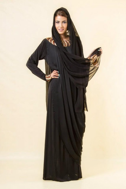 Abaya Designs 2013-2014