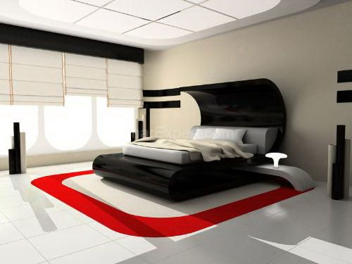 Black Bedroom Furniture Wall Color Design