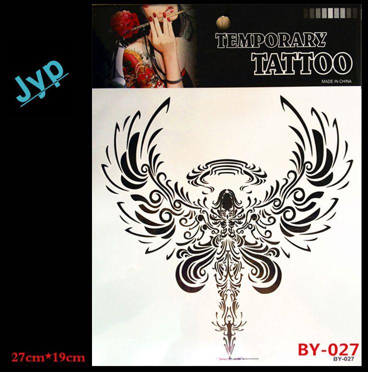 Падшие ангелы Новый Боди-Арт татуировка Временные Татуировки Экзотические Сексуальные Наклейки Татуировки татуировки BY-027