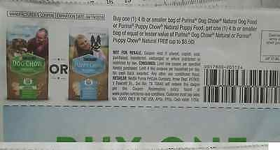 Purina Dog Chow Natural, Puppy Chow Natural dog food Coupons Buy One Get One - http://pets.goshoppins.com/dog-supplies/purina-dog-chow-natural-puppy-chow-natural-dog-food-coupons-buy-one-get-one/