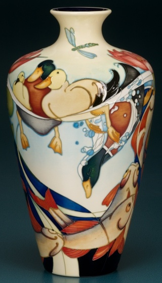 53 best Moorcroft images on Pinterest   Pottery designs, Flower ...