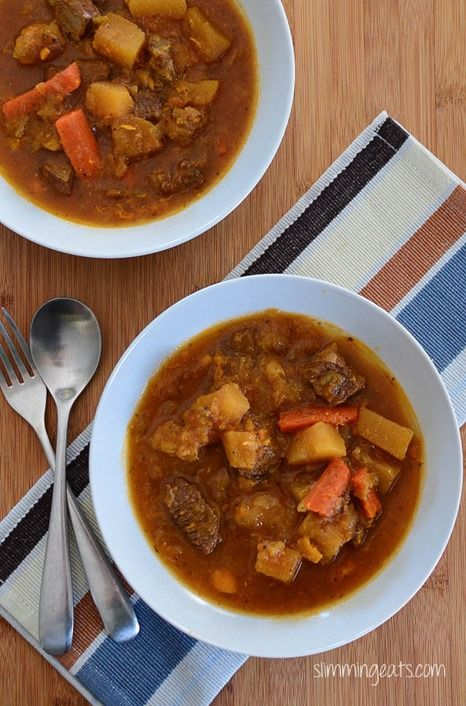 Slow Cooker Irish Beef Stew | Slimming Eats - Slimming World Recipes