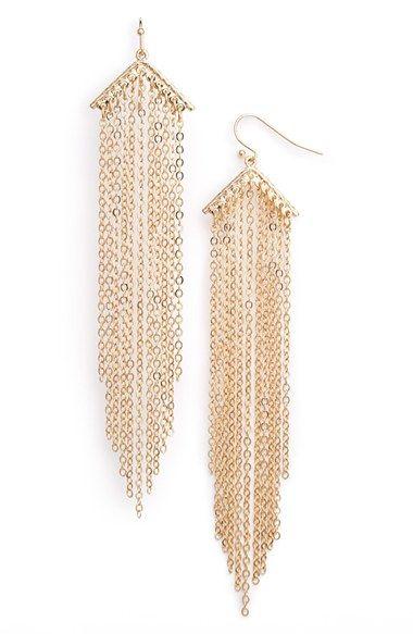 Nordstrom Fringe Earrings available at #Nordstrom