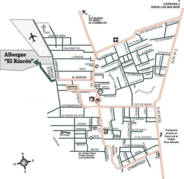 Albergue el Rincón - Hostel en Villa General Belgrano