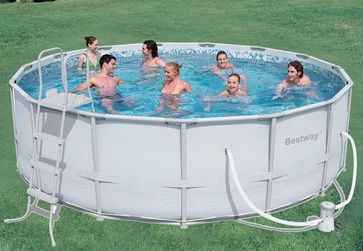 BESTWAY PISCINA CON TELAIO COMPLETA CM. 457X122 MOD. 56235 http://www.decariashop.it/piscine-con-telaio/1377-bestway-piscina-con-telaio-completa-cm-457x122-mod-56235.html