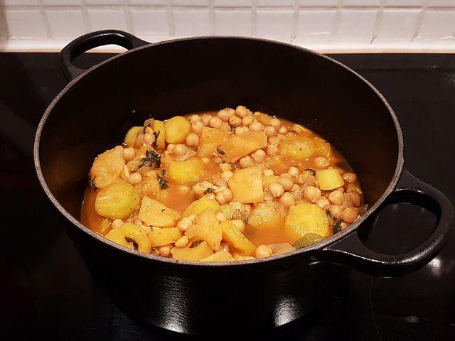 Cocotte de légumes aux pois chiches [le lundi c'est veggie]