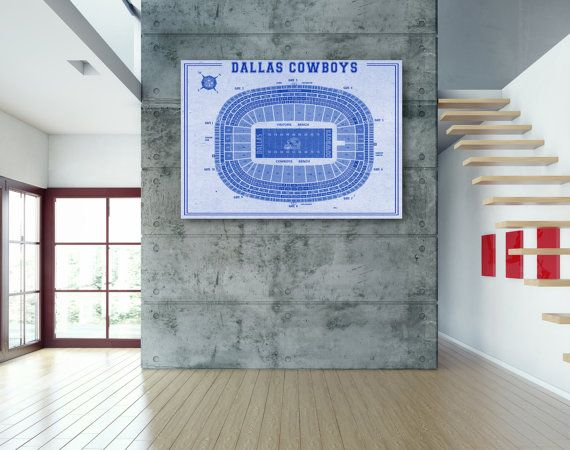 120 best sports bar images on pinterest sports bars canvas prints vintage print of old texas stadium football dallas by clavininc malvernweather Gallery
