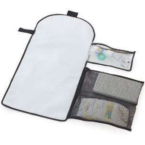 Summer Infant ChangeAway Portable Changing Kit. If your diaper bag doesn't come with a portable changing pad, make sure you get one. Changing tables in public bathrooms are nasty, yo. And in NYC most places don't even have changing tables. I've changed Lila on so many bathroom floors - thanks to a portable changing pad.