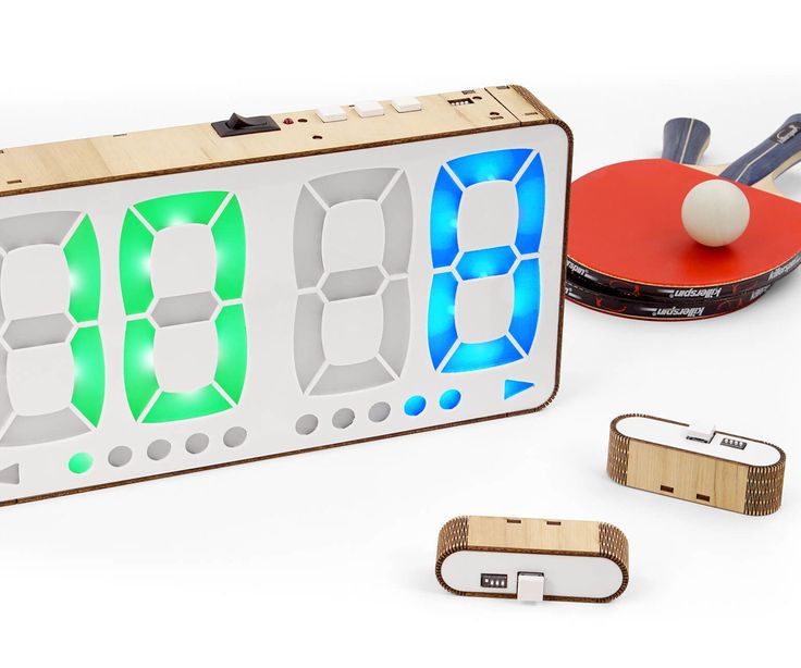 Too lazy to keep track of your Table Tennis / Ping Pong score?Or maybe your just sick of always forgetting it?If so, you may be interested in building this digital...