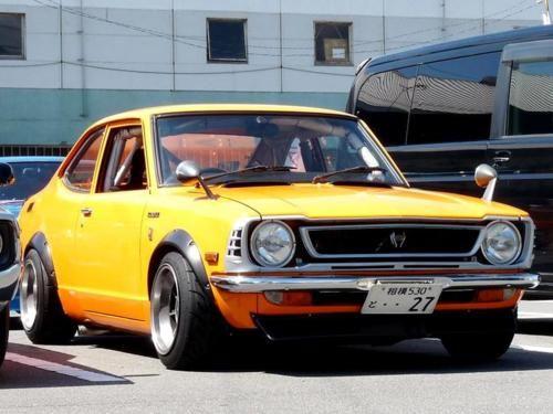 I love old Japanese Cars : )