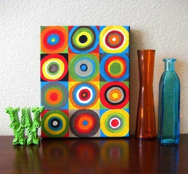 die besten 25 selbstgemalte bilder ideen auf pinterest leinwand selbst gestalten kinder. Black Bedroom Furniture Sets. Home Design Ideas