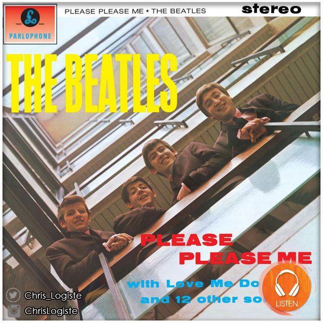 The Beatles - Please Please Me (22 mars 1963) // Album remasterisé, disponible en stéréo pour la première fois, incluant un nouveau livret avec notes de pochettes et photos inédites + un mini-documentaire sur la genèse de l'album en V.O non sous-titrée. #theBeatles #Beatles #album #musique #lennon