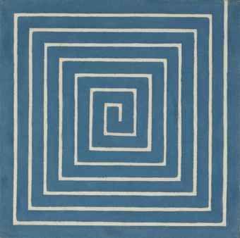 Labyrinth, 1960, Frank Stella. (Christie's)