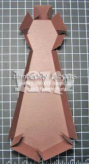 procrastistamper: Father's Day Tie-Shaped Box Pattern