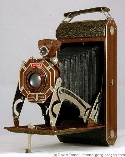 Kodak Eastman: Six-16 (UK) (brown) camera