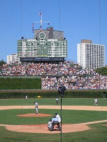 Wrigley Field - Chicago Cubs - Chicago, Il