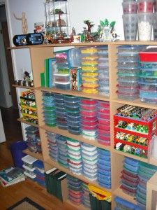 LEGO Organization: The Portable Solution. Lego StorageStorage IdeasLego ...