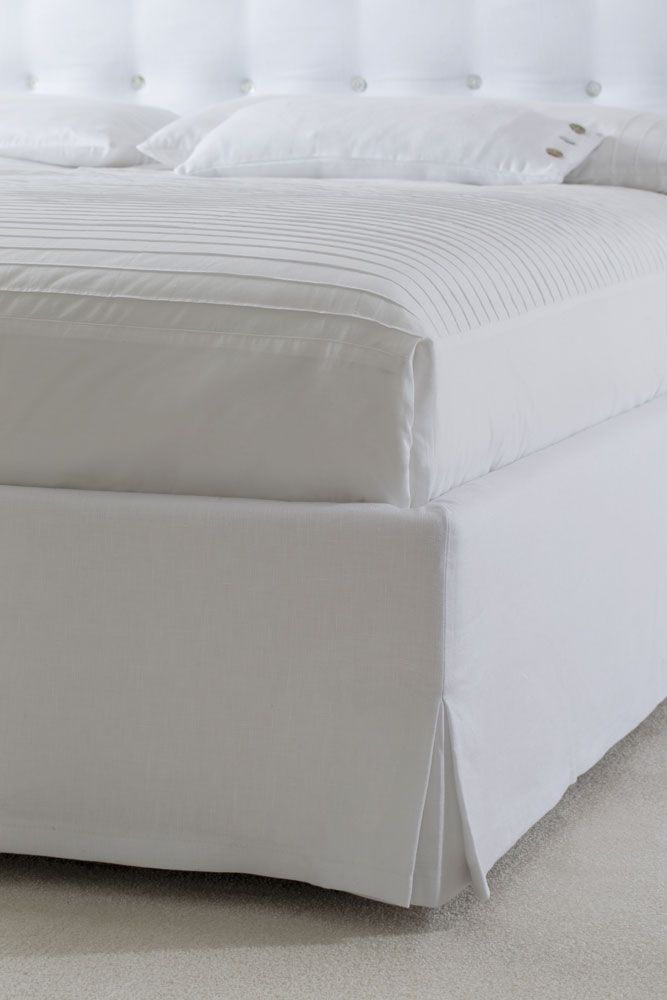 https://it.pinterest.com/bertosalotti/atelier-collection/The Marais Quilted Headboard Bed can be completely customized in any expect like dimensions, details and it can be upholstered with any of the fabrics or leathers in the Berto sample collection.