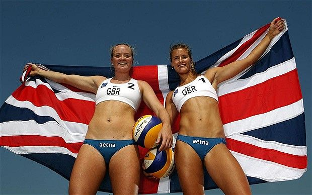 Shauna Mullin and Zara Dampney - London 2012 Olympics: Team GB volleyball squad for Games announced