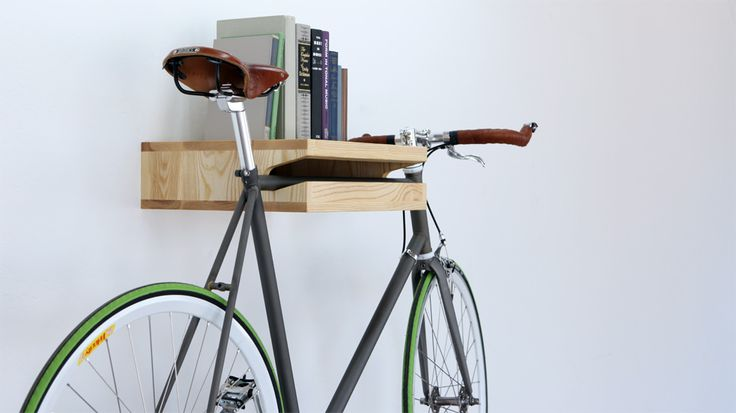 Bike Shelf to artfully store and display your racing bike. $299
