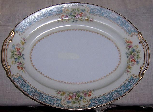 9 best franciscan images on pinterest vintage storage vintage vintage noritake china occupied japan blue dawn floral serving platter fandeluxe Images