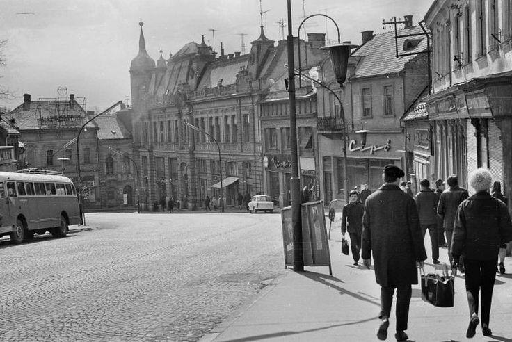 Kossuth str. in the 1960's