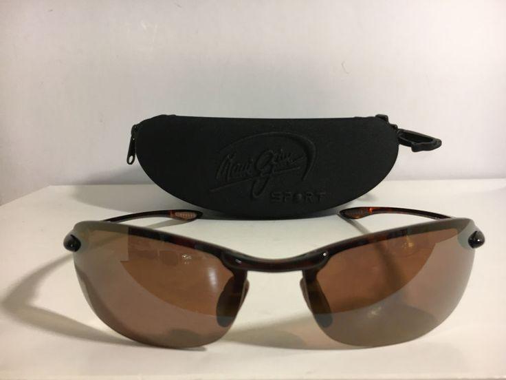 Maui Jim Sport Makaha MJ- 405-10 Sunglasses Made in Japan #MauiJim #Sport