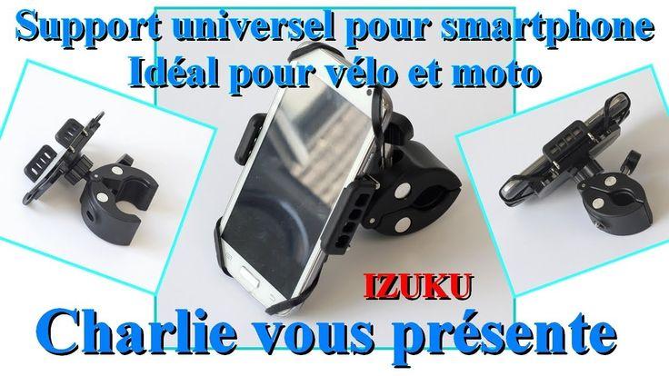 Support universel pour smartphone et téléphone idéal pour vélo et moto I...