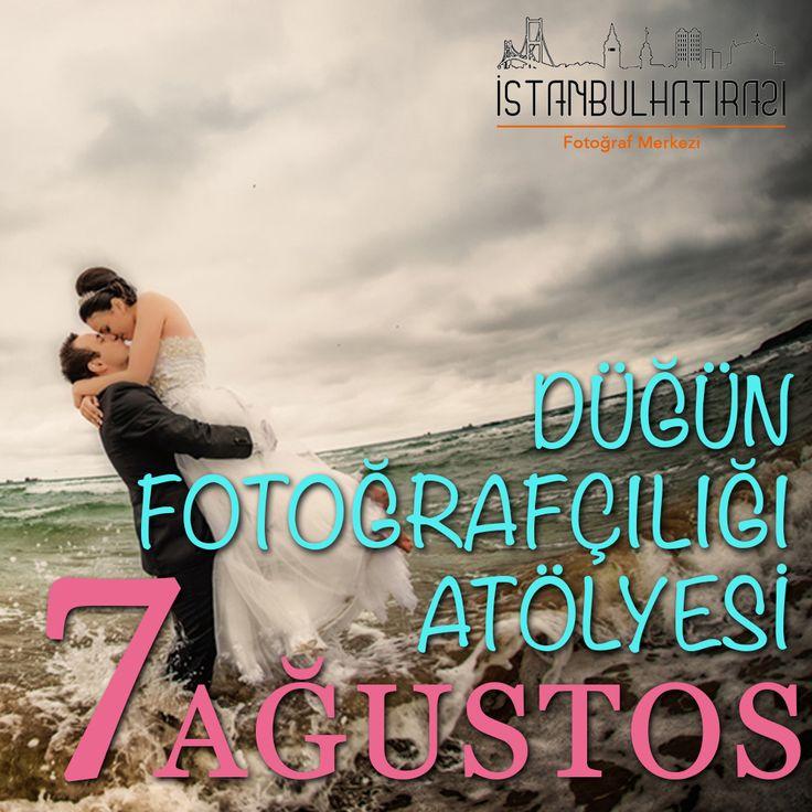 İstanbul Hatırası'nda Düğün Fotoğrafçılığı Atölyesi 7 Ağustos'ta başlıyor!