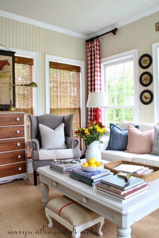 Savvy southern style spring in the sun room home decor Savvy home and garden