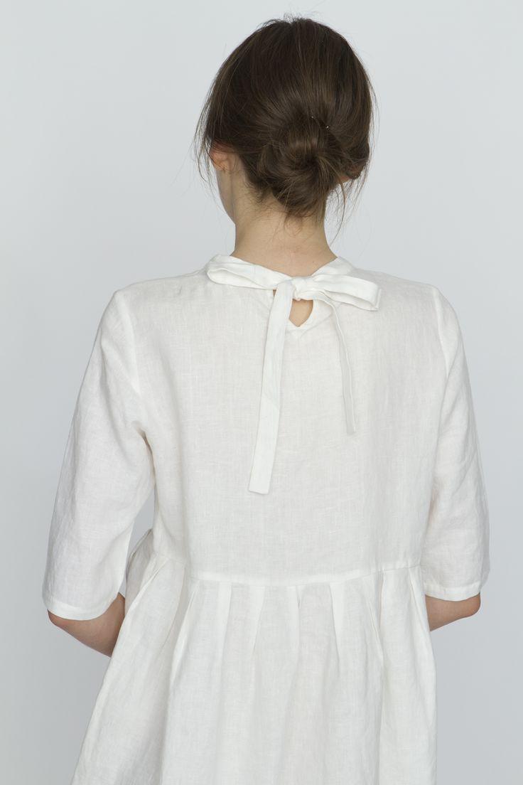 Pilgrim Dress – White :: Dresses :: United Bamboo