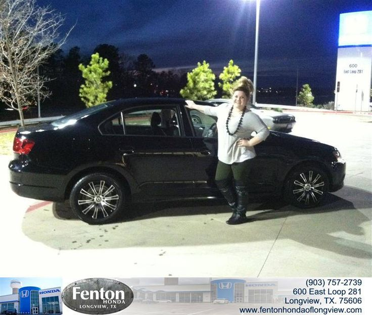 Congratulations to Laura Eckstadt on your #Volkswagen #Jetta Sedan purchase from Raul Hernandez at Fenton Honda of Longview! #NewCar