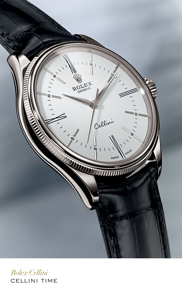 Rolex Cellini Time  #RolexOfficial   For more information regarding this timepiece, please be sure to visit http://www.cdpeacock.com/.