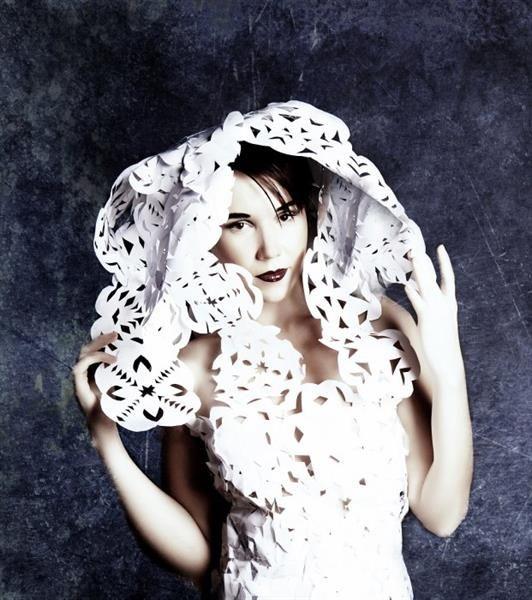 Платье из паутины как создавалось