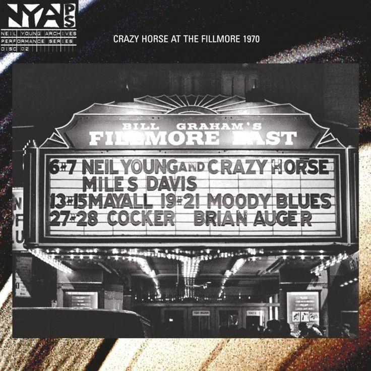 Neil Young & Crazy Horse - Live at Fillmore East 180g Vinyl LP